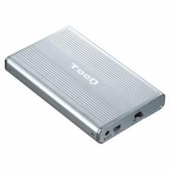 TooQ TQE 2512 caja externa 25 IDE SATA a USB 20