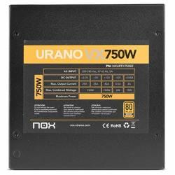 NOX Fuente Alimentacion Urano VX 750W 80 BRONZE