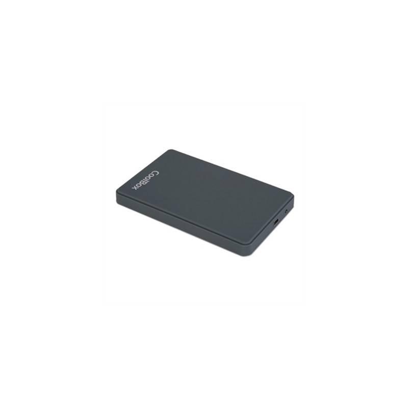 CoolBox Caja HDD 25 SCG2543 GRIS USB30