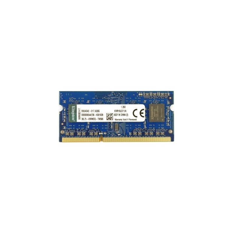 Kingston KVR16LS11 4 4GB SoDim DDR3 1600MHz 135V