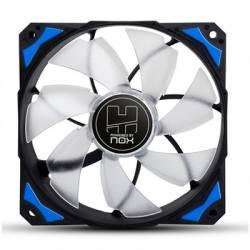 Nox Ventilador Caja HFAN 12cm Led Azul