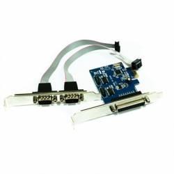 approx PCIE1P2S tarjeta 2 Serie 1 Paralelo PCI E