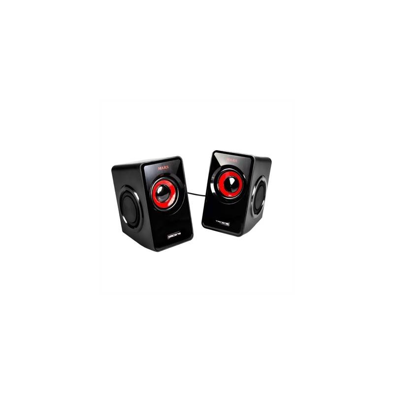 Mars Gaming Altavoces 20 MS1 negro rojo