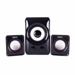 approx APPSP21M Altavoces 21 10W Negros