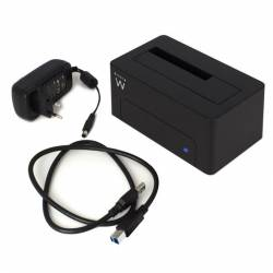 Ewent EW7012 Dock Station Dual 25 35 USB 30