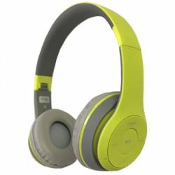 Omega Freestyle casco Bluetooth FH0915GG Verde Gri