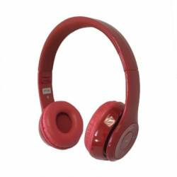 Omega Freestyle casco Bluetooth FH0915R Rojo Rojo