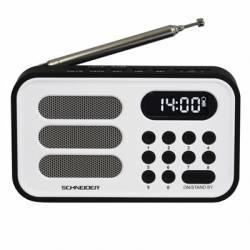Schneider Radio Handy mini blanca