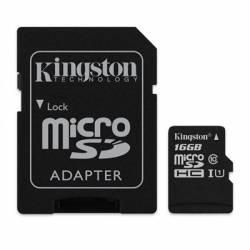 Kingston SDCS 16GB micro SD XC clase 10 16GB