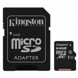 Kingston SDCS 64GB micro SD XC clase 10 64GB