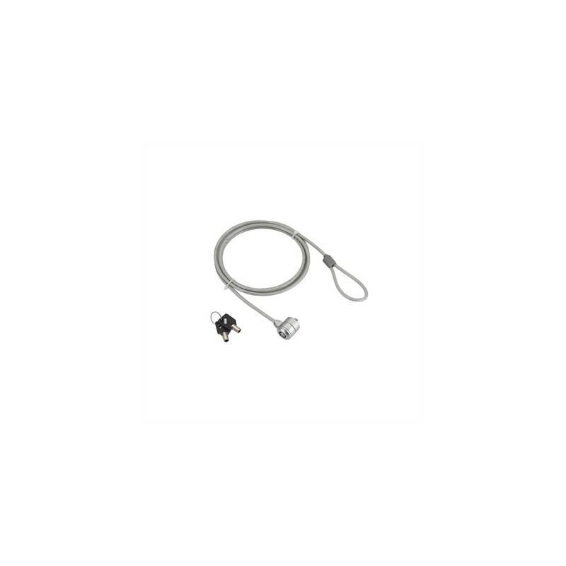 iggual Cable de Seguridad Portatiles Key lock
