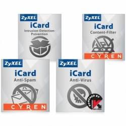 ZyXEL Licencia Anual 4 Servicios ZyWALL110 USG110