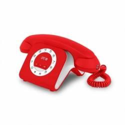 SPC 3609R Telefono RETRO ELEGANCE MINI Rojo