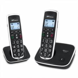 SPC 7609N Telefono DECT COMFORT KAISER DUO Negro