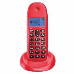 MOTOROLA C1001 LB Telefono DECT Cereza