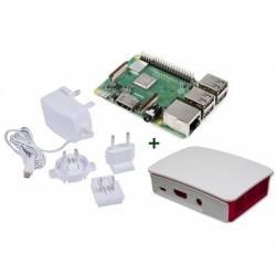 Raspberry kit Pi 3 B caja bca roja fuente b