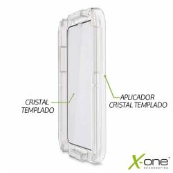 X one Easy Aplicator Cristal Templado iPhone 7 8