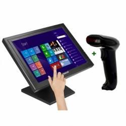 KIT iggual Monitor Tactil 15 Lector 1D ImagUSB