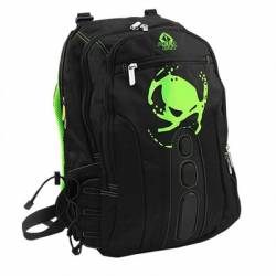 KEEP OUT BK7G Mochila 156 Gaming Negro y Verde