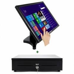KIT iggual Monitor Tactil 19 Cajon portamonedas