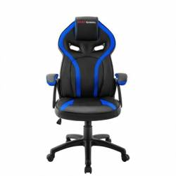 Mars Gaming Silla MGC118 Negra Azul GAS LIFT CL4