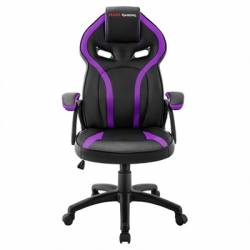 Mars Gaming Silla MGC118 Neg Morada GAS LIFT CL4