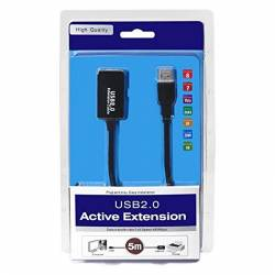 CABLE USB 20 PROLONGADOR AMPLIFICADOR M H 5 M