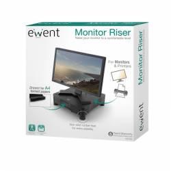 EWENT EW1280 Cajon plastico Elevador sopor Monitor