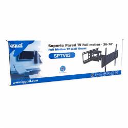 iggual SPTV03 Soporte TV 36 70 50Kg pared Full