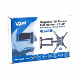 iggual SPTV09 Soporte TV 23 42 15Kg pared Full