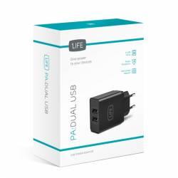 CAJA EXTERNA HDD 2.5'' USB2.0 SCG2542 ROJO COOLBOX - Imagen 1