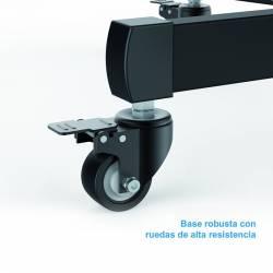 Tooq Soporte TV Suelo Ruedas FS1470M B 37 70