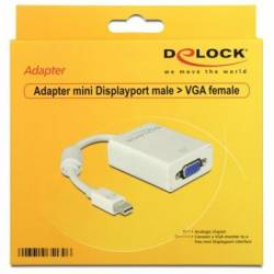 Delock Adaptador Mini Displayport11 machoVGAH