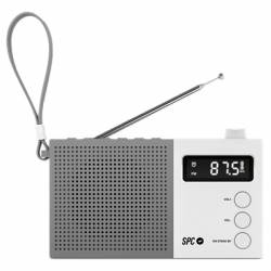 SPC Radio FM Jetty Max pantalla LCD Blanco