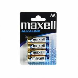 Maxell Pila Alcalina 15V Tipo AA Pack4