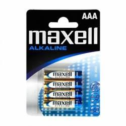 Maxell Pila Alcalina 15V Tipo AAA Pack4