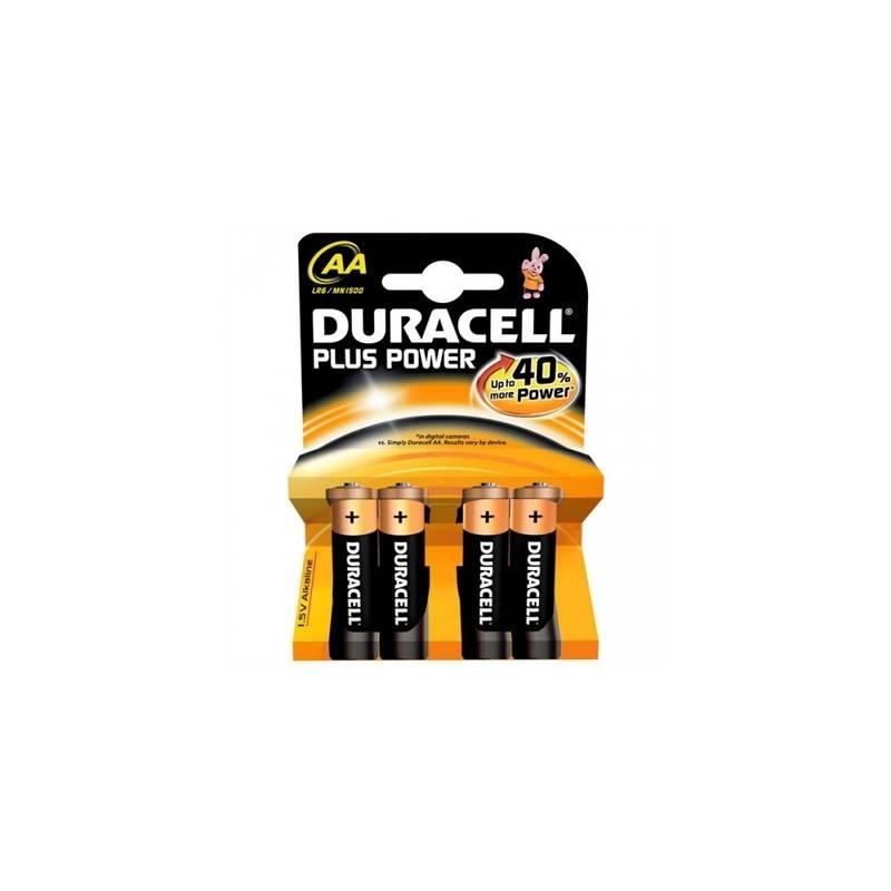 Duracell Pila Alcalina Plus Power LR6 AA Pack 4