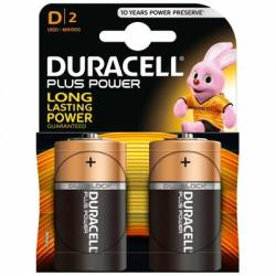 Duracell Plus Power Pila Alcalina D LR20 Blister2