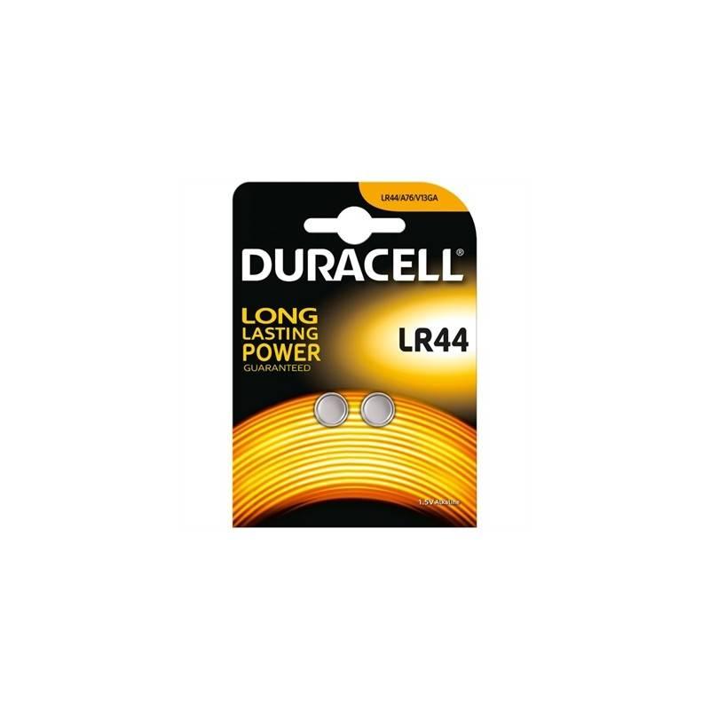 Duracell Pila Boton Alcalina LR44 15V Blister2