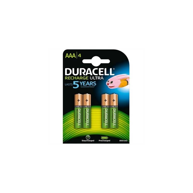 Duracell Pila Recargable HR03 AAA 800mAh Blister4