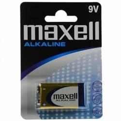 Maxell Pila Alcalina 9V LR61 Blister1 EU