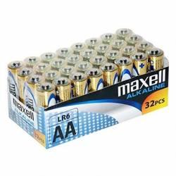 Maxell Pila Alcalina AA LR06 Pack32 PilaS