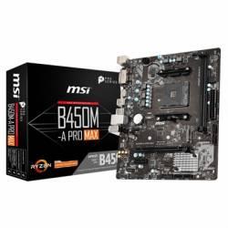 MSI Placa Base B450M A PRO MAX AM4