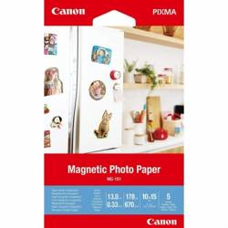 Canon Magnetic Photo Paper MG 101 5 hojas