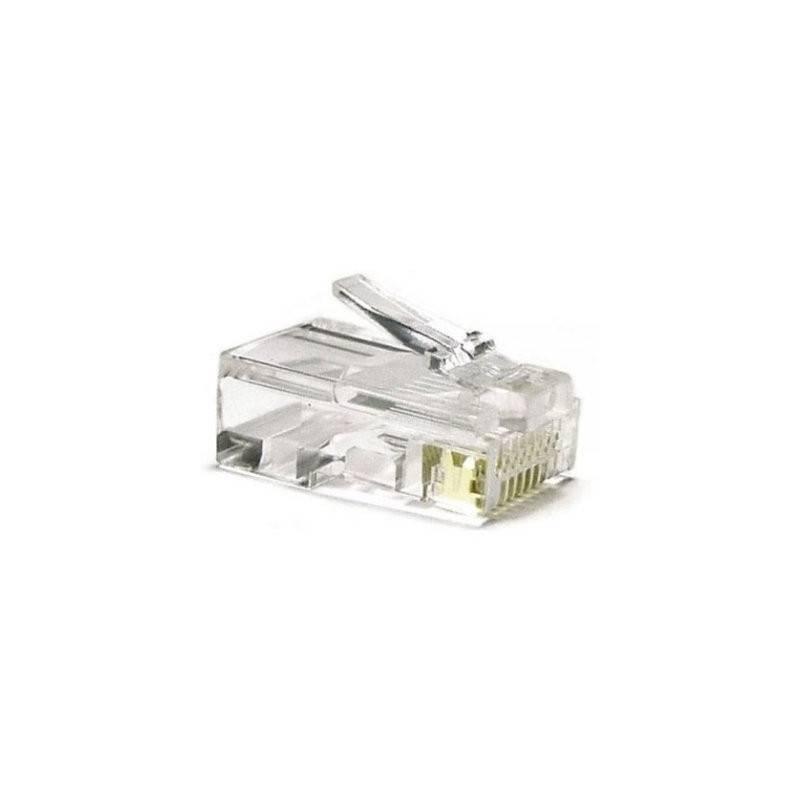 Conector RJ45 Categoria 5 UTP 10 Und