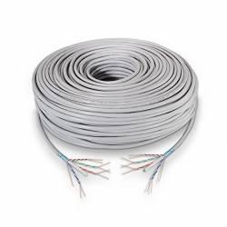Bobina Cable RJ45 CAT6 FTP 100Mts 100 Cobre