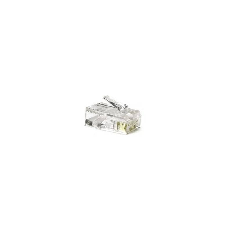 Conector RJ45 categoria 6 UTP 10 Und