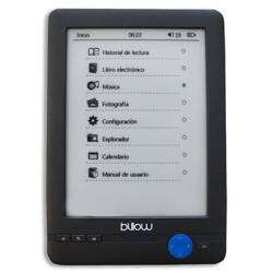 Billow E03T eBook reader E03T 6 E Ink 4GB Tactil