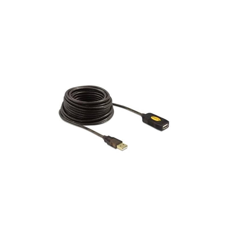 DELOCK Cable prolongador USB 20 10 metros