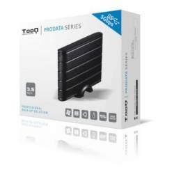 TooQ TQE 3530B caja HDD 35 SATA3 USB 30 Negra